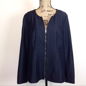 Dana Bachman Stretch Denim Jacket 16
